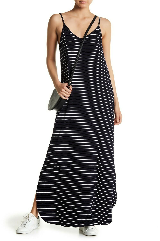 Dress Navy/Ivory Cami Maxi