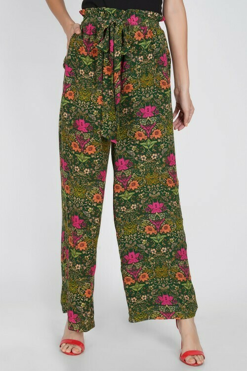 Pant Kyra Abstract Floral