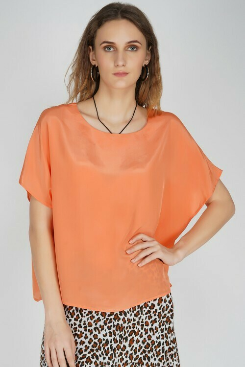 Top Kendall Solid Coral