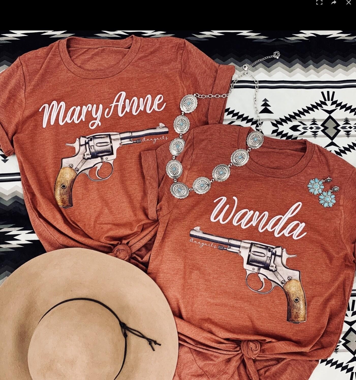Tshirt Wanda Heather Clay