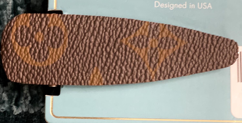 Hair Clip Clover Design