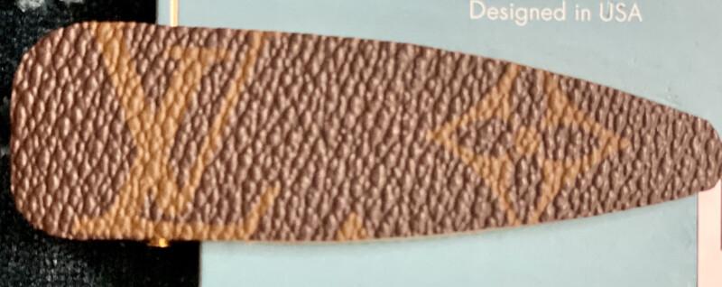 Hair Clip Clover LV Design