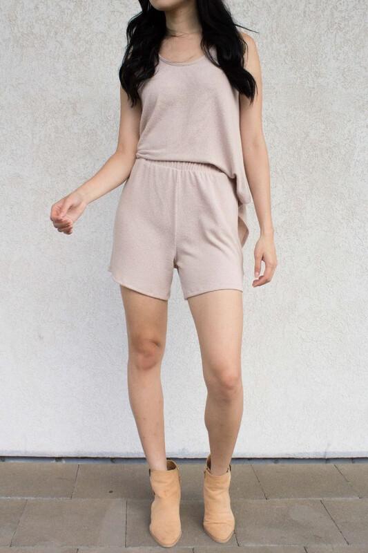 Crepe Hacci Shorts