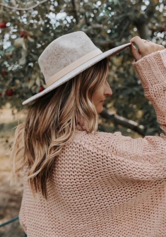 Grey 710 Hat