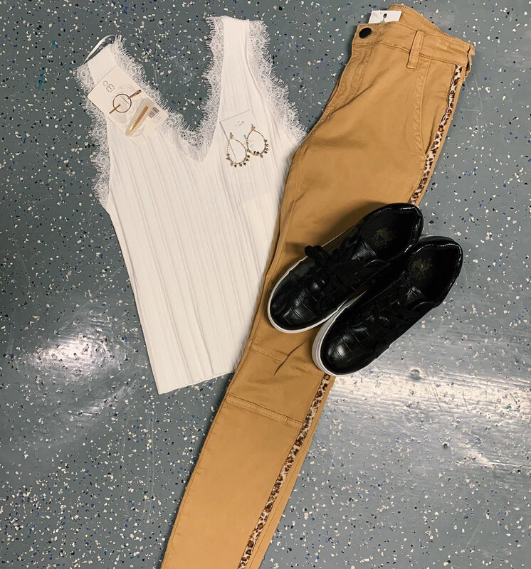 MOTO Pant with Animal Tape Side