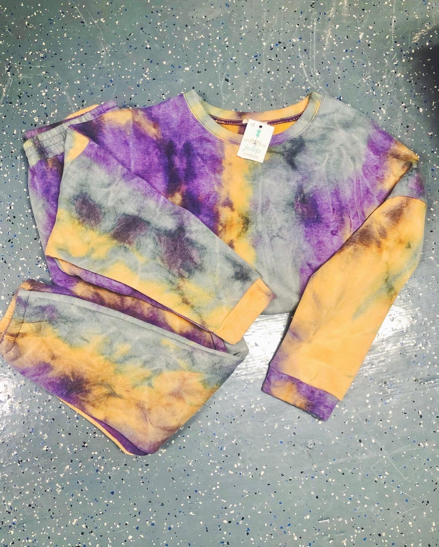 Pant - Purple Mango Fleece