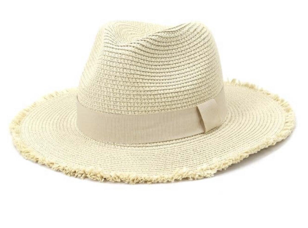 Beach Hat - Beige
