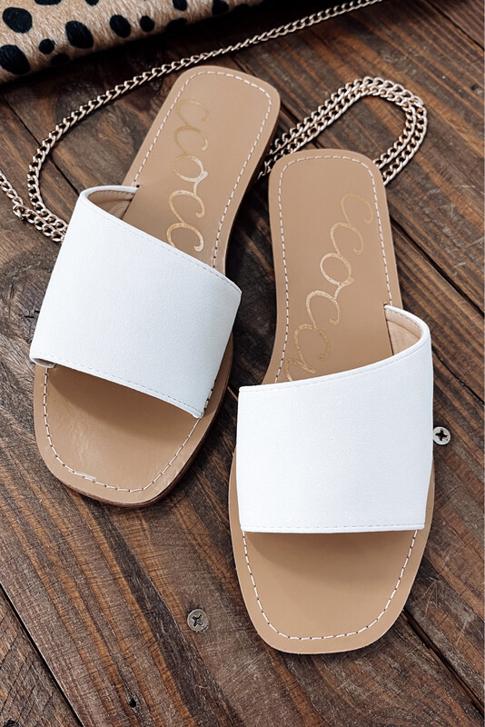 Mavis Slide White