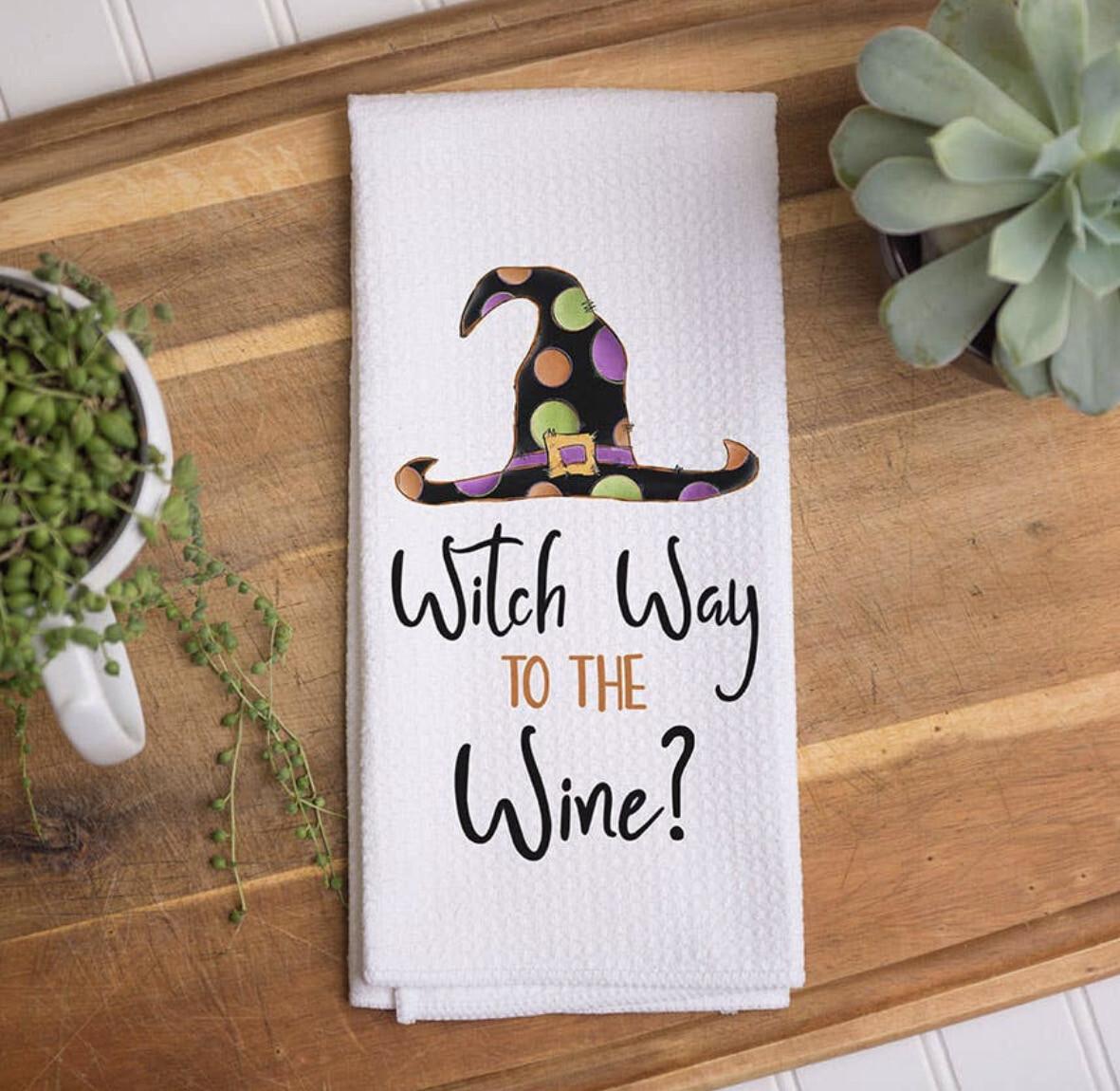 Towel Witch Wine