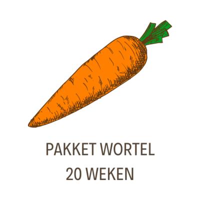 Pakket Wortel - 20 Weken