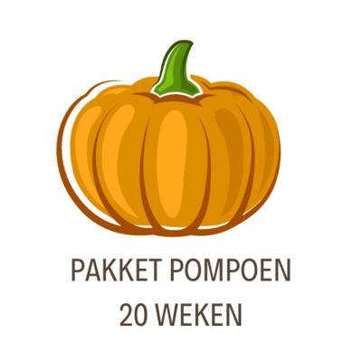 Pakket Pompoen- 20 Weken