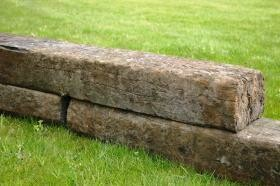 Used Railway Sleeper (150mmx200mmx2.6m)