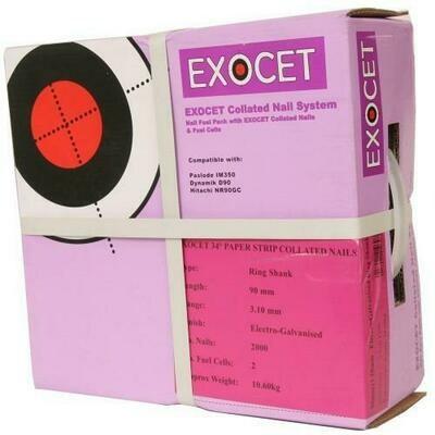 Exocet Nail Gun Nails