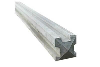 Three Way 'T' Concrete Post