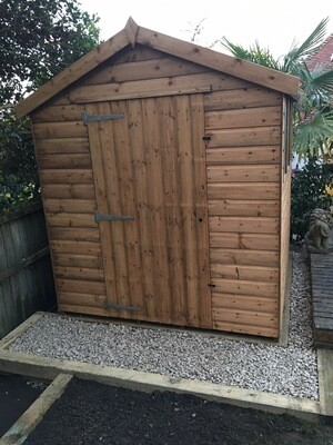 The Mid shire 6 X 4ft Apex Shed