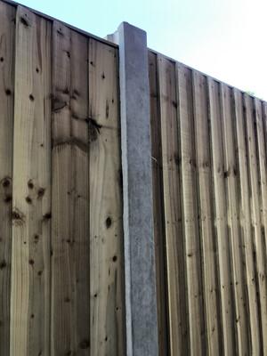 Intermediate Concrete Post