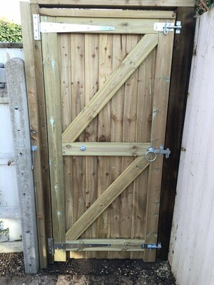 Side Gate Fitted Kit