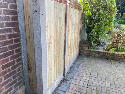 Fence Panel Gravel Board Cut To Size