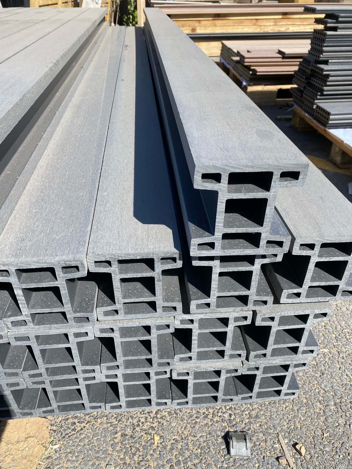 Composite Slotted Posts