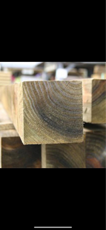 "3"" Wooden Post"
