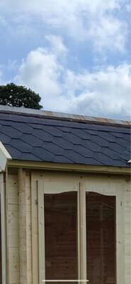 Ringwood Black Felt Roof Shingles