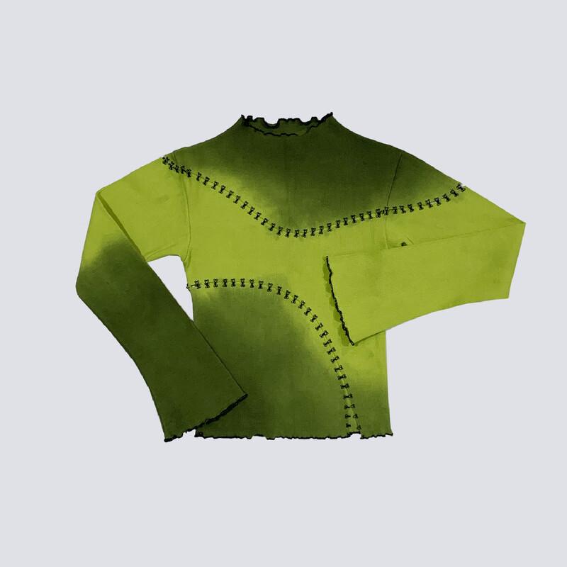 green scar long sleeve
