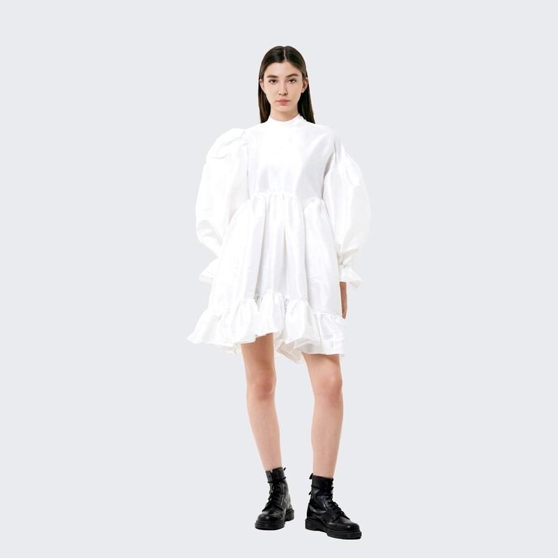asymmetrical baby dress