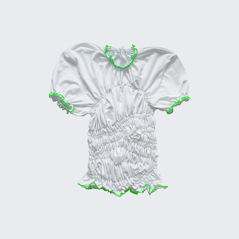 gum t-shirt white