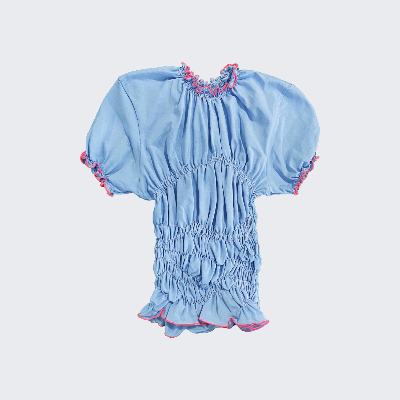 gum t-shirt blue