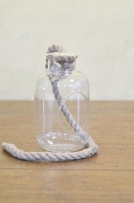Verrerie pour terrarium avec corde