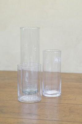 Vase droit en verre S, M, L