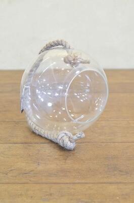 Boule verre pour terrarium suspendu