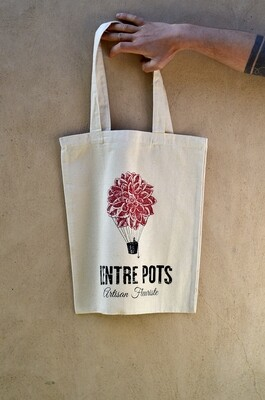 Tote bag L'Entre Pots, Artisan Fleuriste