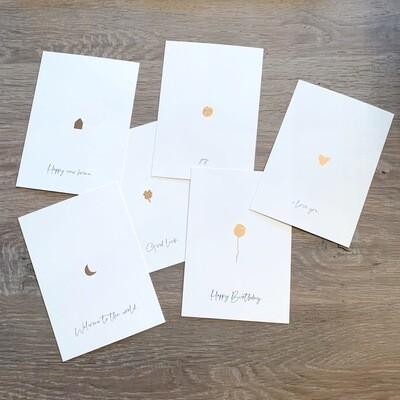 jeej postcards: mix