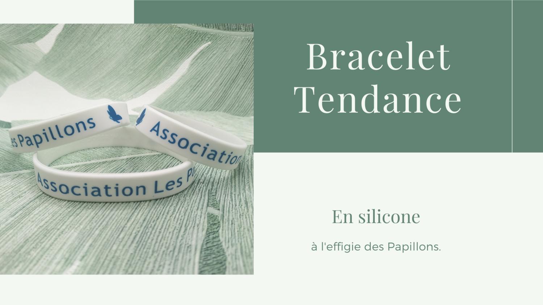"""Bracelet Communautaire """"Les Papillons"""""""