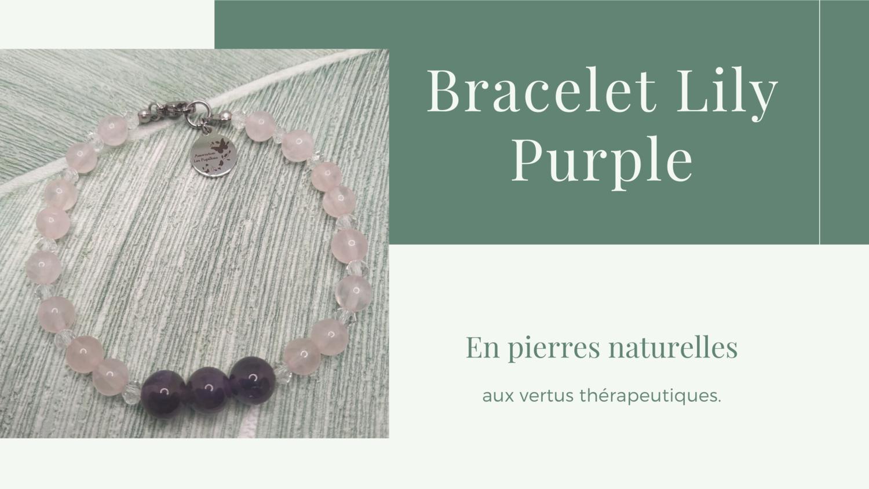 Bracelet LILY Purple