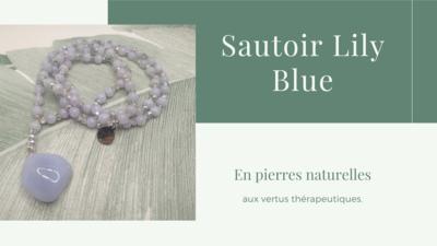 Sautoir LILY Blue