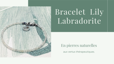 Bracelet LILY Labradorite