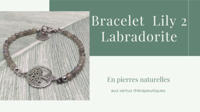 Bracelet LILY 2 Labradorite