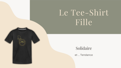 Tee-Shirt Fille - Taille 8 ans