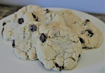 Cranberry Sugar Cookies, 20 Count