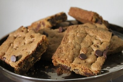 Chocolate Chip Cookie Bars, 18 Count