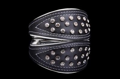 ZOOLeszcz Greyhound Neo Crystal Collar (529)