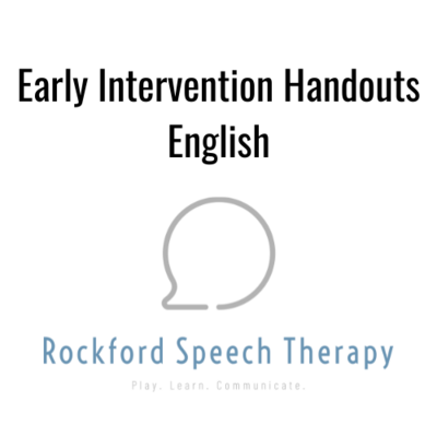 Early Intervention Handout