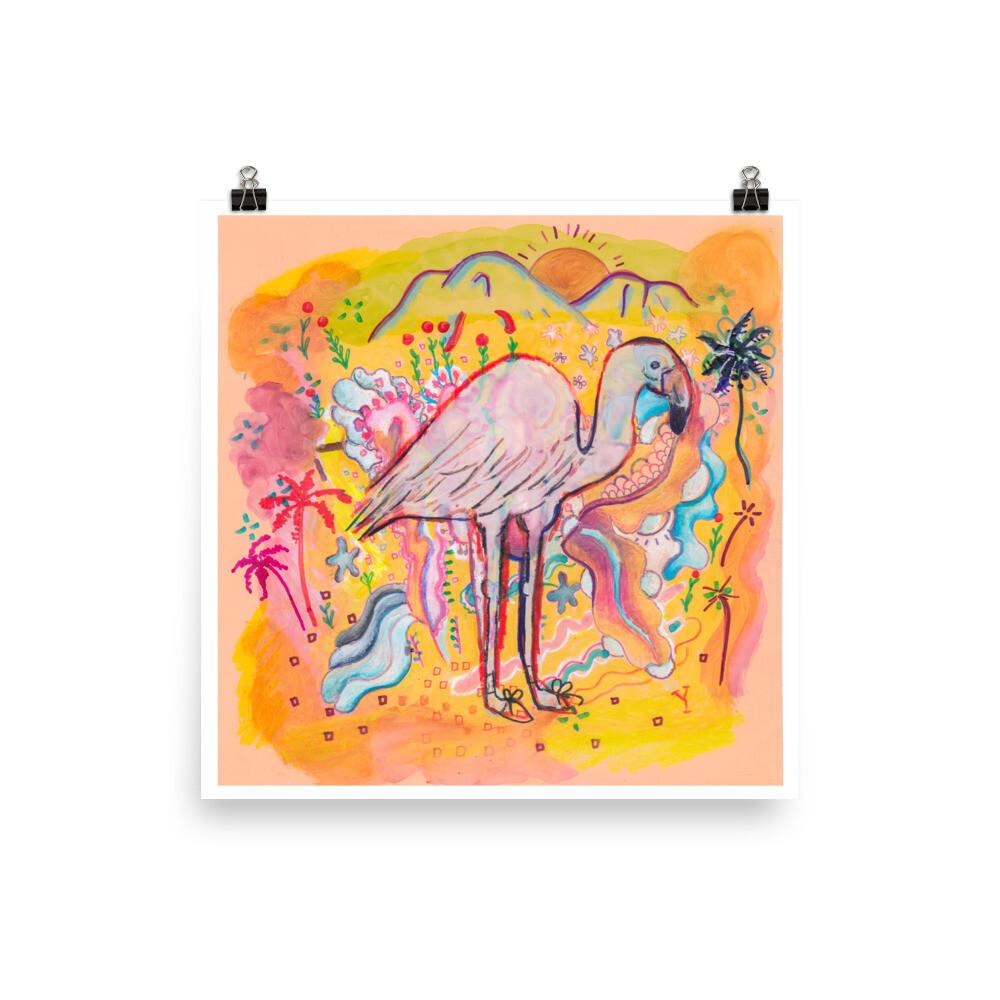 March Flamingo