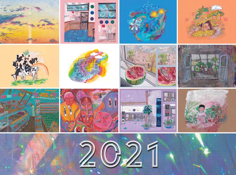 2021 Calendar (February 2021 - January 2022)