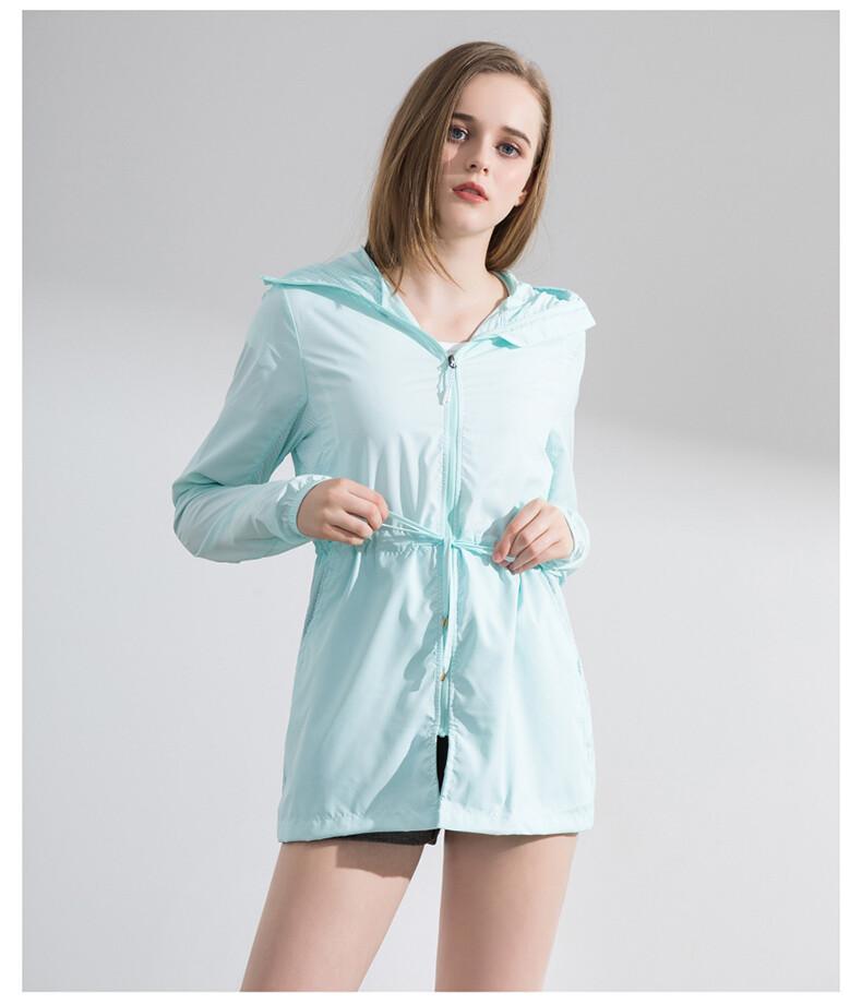 Humbgo UPF40+ Anti-UV ultra thin sun jacket for women
