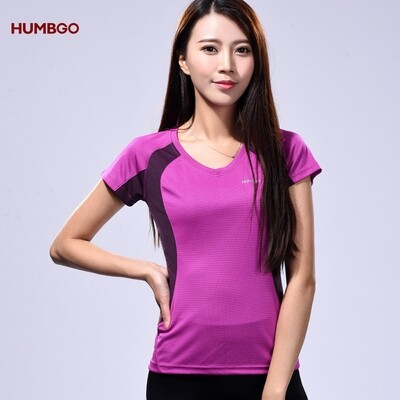 Humbgo dual color Drifit Shirt for women