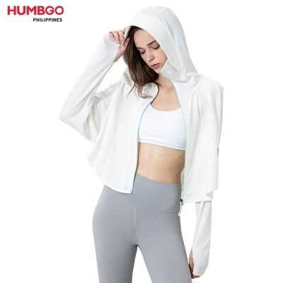 Humbgo Women's Anti-UV hooded clothing zip up