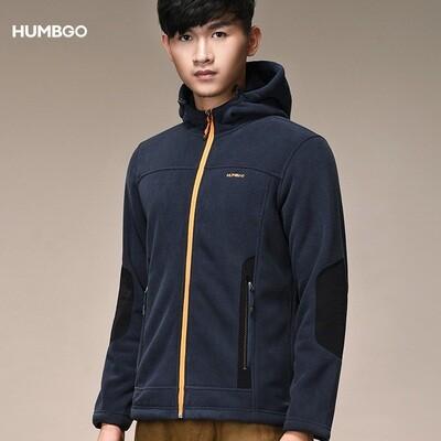 Humbgo Men's Fleece jacket hoodie north fox edition